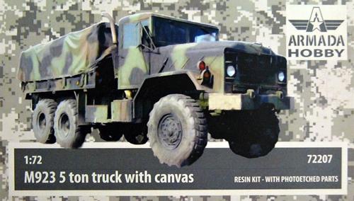 """AMM72207   M923 """"Big Foot"""" US 5ton Truck w. Canvas Resin kit w. PE set (thumb9642)"""