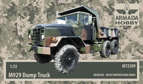 AMM72209   M929 US 5ton Dump Truck Resin kit w. PE set (thumb9646)