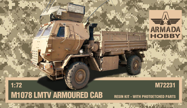 AMM72231   FMTV with Armoured Cab TRACTOR (thumb9670)