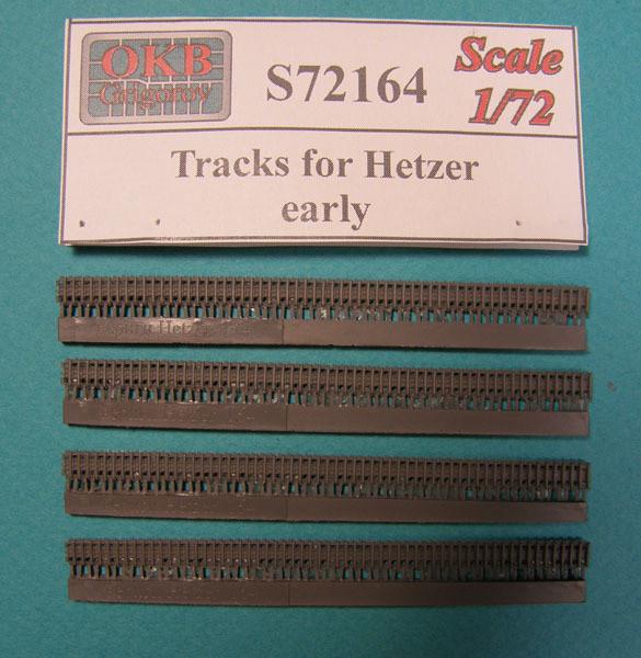 OKBS72164 Траки для танка Hetzer, ранние             Tracks for Hetzer, early (thumb8039)