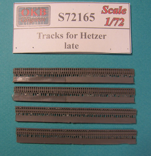OKBS72165 Траки для танка Hetzer, поздние                Tracks for Hetzer, late (thumb8042)