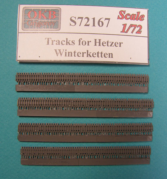 OKBS72167 Траки для танка Hetzer, Winterketten (Зимние) с уширителями          Tracks for Hetzer, Winterketten (thumb8048)