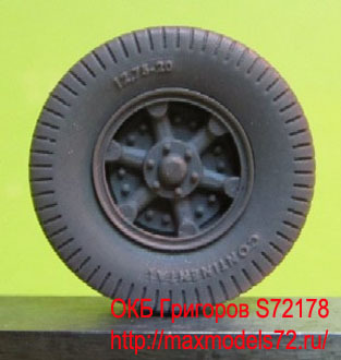 OKBS72178 Колеса для автомобиля Vomag 7 or 660 тип 2            Wheels for Vomag 7 or 660, type 2 hard (thumb8070)