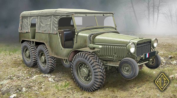 ACE72536   French Artillery tractor (6x6) W-15T (thumb11497)
