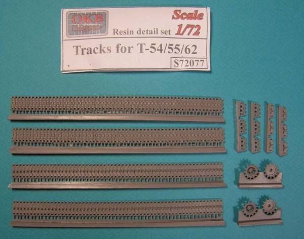 OKBS72077 Траки для танка T-54/55/62.         Tracks for T-54/55/62 (thumb7763)