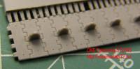 OKBS72093 Траки для танка Т-34 «вафли» тип 1.         Waffle tracks for T-34, type 1 (attach2 7820)