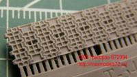OKBS72094 Траки для танка Т-34 «вафли» тип 2.          Waffle tracks for T-34, type 2 (attach1 7824)