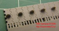 OKBS72095 Траки для танка Т-34 «вафли» тип 3.         Waffle tracks for T-34, type 3 (attach2 7828)