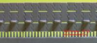 OKBS72103 Траки для танка Т-34 «вафли» широкие.      Extended waffle tracks for T-34 (attach1 7860)