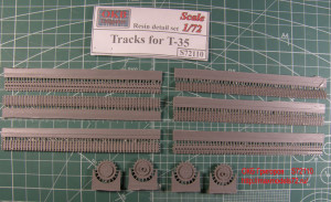 OKBS72110 Траки для танка Т-35.            Tracks for T-35 (thumb7889)