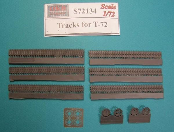 OKBS72134 Траки для танка Т-72          Tracks for T-72 (thumb7961)