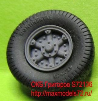 OKBS72136 Колеса для автомобиля Vomag 7 or 660, тип 2        Wheels for Vomag 7 or 660, type 2 (thumb7969)