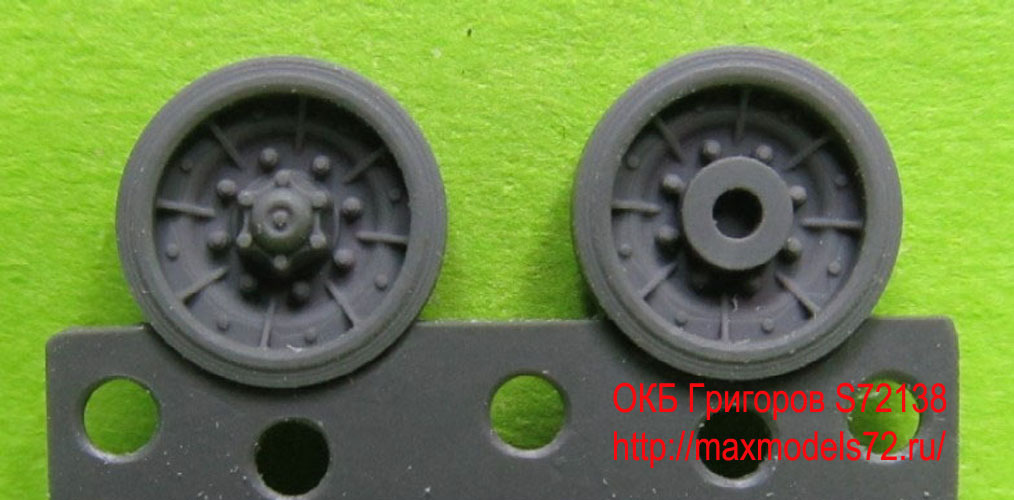 OKBS72138 Катки для танка AMX-30 Wheels for AMX-30