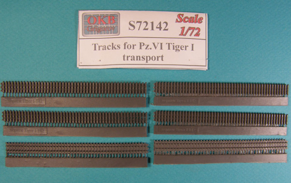 OKBS72142 Траки для танка Pz.VI Ausf.H Tiger I  транспортные            Tracks for Pz.VI Ausf.H Tiger I, transport (thumb7987)