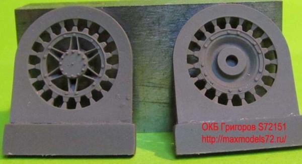 OKBS72151 Ведущее колесо - звездочка для танков Pz.IV с 40 cm траками            Sprockets for Pz.IV, 40 cm tracks (thumb8011)