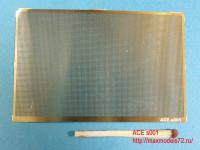 ACEs001   Straight mesh — cell 0.5х0.5mm (Сетка прямая) 70*45mm (attach1 6740)