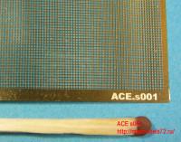 ACEs001   Straight mesh — cell 0.5х0.5mm (Сетка прямая) 70*45mm (attach2 6740)