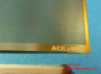 ACEs005   Honeycomb mesh  — cell 0.3mm (Сетка Соты) 70*45mm (attach2 6748)