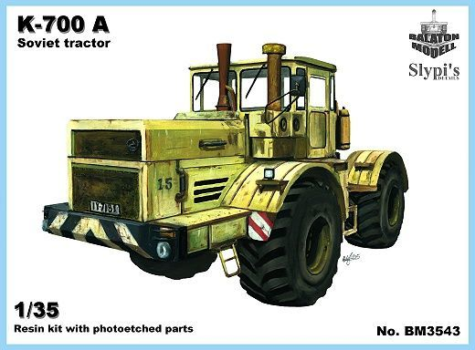 BM3543   К-700 трактор            K-700 tractor (thumb9127)