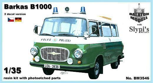 BM3546   Автомобиль Barkas B1000 van (фургон) (thumb9154)