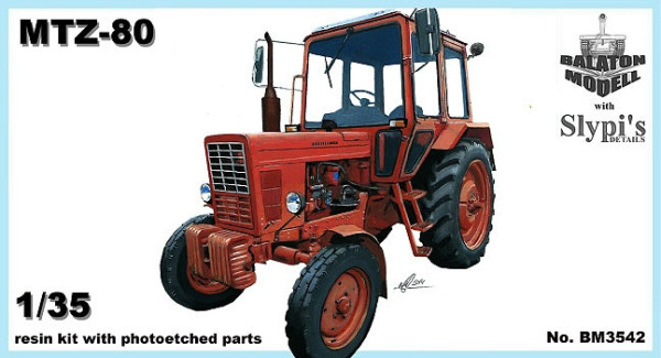 BM3542   МТЗ-80 трактор Беларусь           MTZ-80 Belarus tractor (thumb9119)