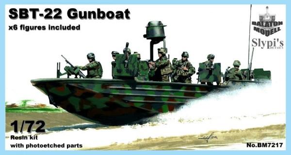 BM7217   SBT-22 боевой катер (США) + 6 фигур   SBT-22 gun boat (U.S.)  x6 figures (thumb9097)