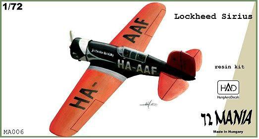BMMA006   Lockheed Sirius seaplane (Lindbergh's) (thumb9160)