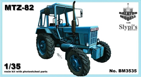 BM3535   МТЗ-82 трактор Беларусь       MTZ-82 Belarus tractor 4x4 (thumb9138)