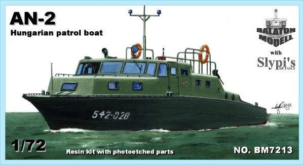 BM7213   AN-2 патрульный катер (Венгрия)       AN-2 patrol boat (Hungary) (thumb9091)