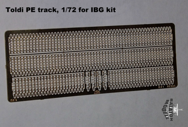 Траки для танка 38M Toldi photoetched track set for IBG kit (thumb9303)