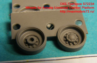 OKBS72234   Катки для Армата                    Wheels for Armata Universal Combat Platform (attach1 11811)