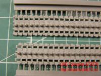 OKBS72070 Траки для семейства машин ИС/ИСУ ранние штампованные 650мм  (гребни  на каждом звене)                Tracks for IS/ISU,initial type,650 mm (attach2 7734)