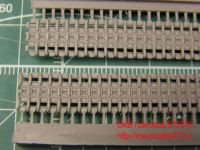 OKBS72070 Траки для семейства машин ИС/ИСУ ранние штампованные 650мм  (гребни  на каждом звене)                Tracks for IS/ISU,initial type,650 mm (attach1 7734)