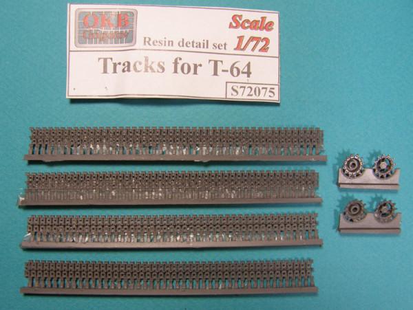 OKBS72075 Траки для танка T-64                Tracks for T-64 (thumb7754)