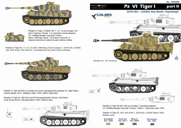 CD72028   Pz  VI  Tiger I  -  Part II (thumb6273)