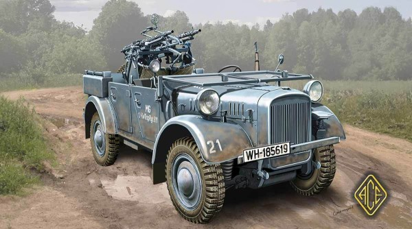 ACE72512   Kfz.4 Truppenluftschutzkraftwagen машина зенитного прикрытия (thumb6616)