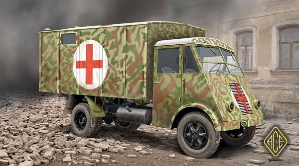 ACE72524   French 3,5t truck AHN (medical van) (thumb6638)