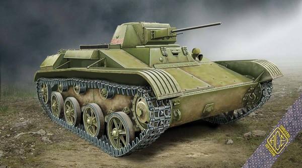 ACE72540   T-60 Soviet Light Tank zavod #264 (spoked wheels, model 1942) (thumb6654)
