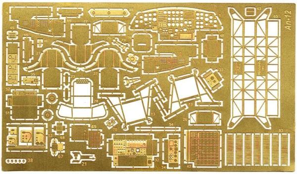 ACEPE7225   Фототравление для модели АН-12 от Роден интерьер, экстерьер                                                  An-12 Cub (inter.+exterior) P.e. update set for Roden kit. (thumb6676)