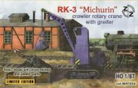 "ZZ87024   RK-3""Michurin"" rotary crane w/greifer (thumb9957)"