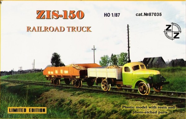 ZZ87035   Zis-150 Railroad Truck (thumb9970)