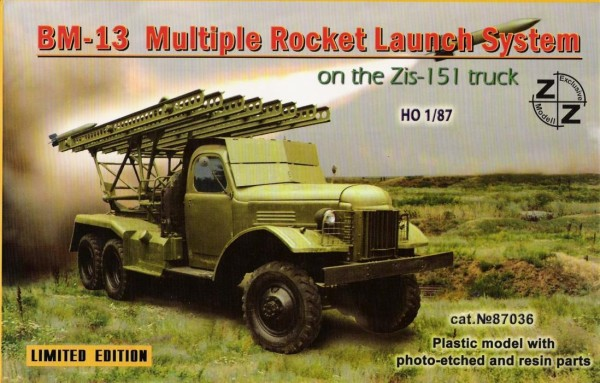 ZZ87036   BM-13 Rocket Launch System w/Zis-151 (thumb9972)