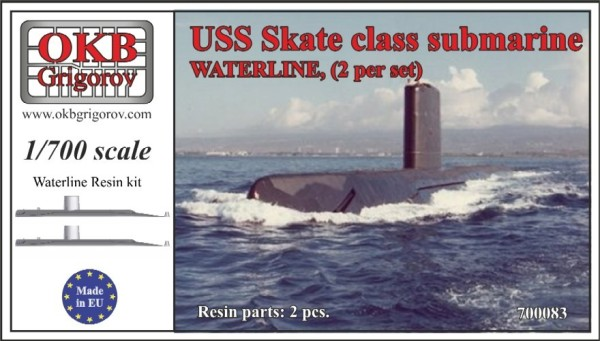 OKBN700083   USS Skate class submarine,WATERLINE, (2 per set) (thumb11368)