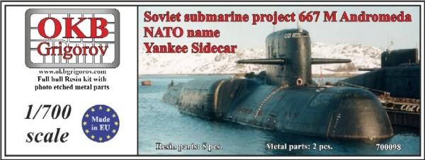 OKBN700098   Soviet submarine project 667 M Andromeda (NATO name Yankee Sidecar) (thumb11407)