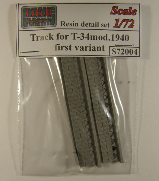 OKBS72004 Траки Т-34 ранние образца 1940 г. Вариант 1        Tracks for T-34 mod.1940, first variant (thumb7503)