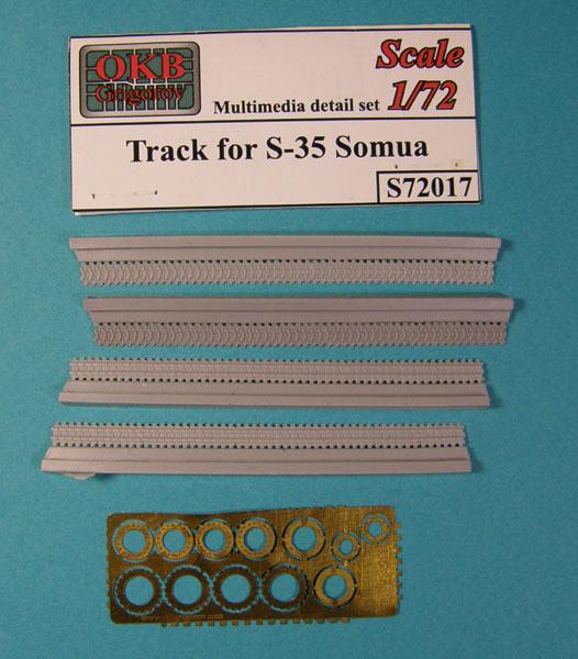 OKBS72017 Траки танка  S-35 Somua        Tracks for S-35 Somua (thumb7546)