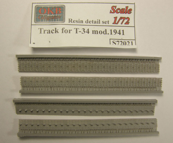"""OKBS72021 Траки  Т-34 550мм """"вафельные""""           Tracks for T-34 mod.1941 (thumb7556)"""