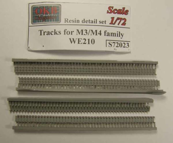 OKBS72023 Траки для семейства танков M3/M4 тип WE210         Tracks for M3/M4 family, WE210 (thumb7563)