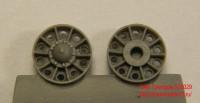 OKBS72029 Ленивцы Т-34 выпуска 1942-45 г. С усиленными отверстиями облегчения       Idler wheel for T-34 mod.1942-45, with reinforcement rings around the holes (6 per set) (attach1 7582)