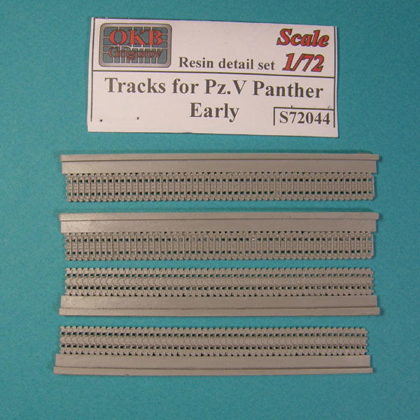 OKBS72044 Траки для танков Pz.V Panther, ранние         Tracks for Pz.V Panther, early (thumb7633)